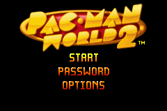 Pac-Man World 2 - Title screen - User Screenshot